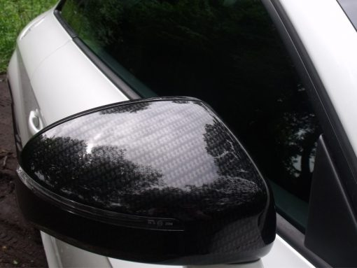 Audi TT Carbon Dipped Wing Mirror