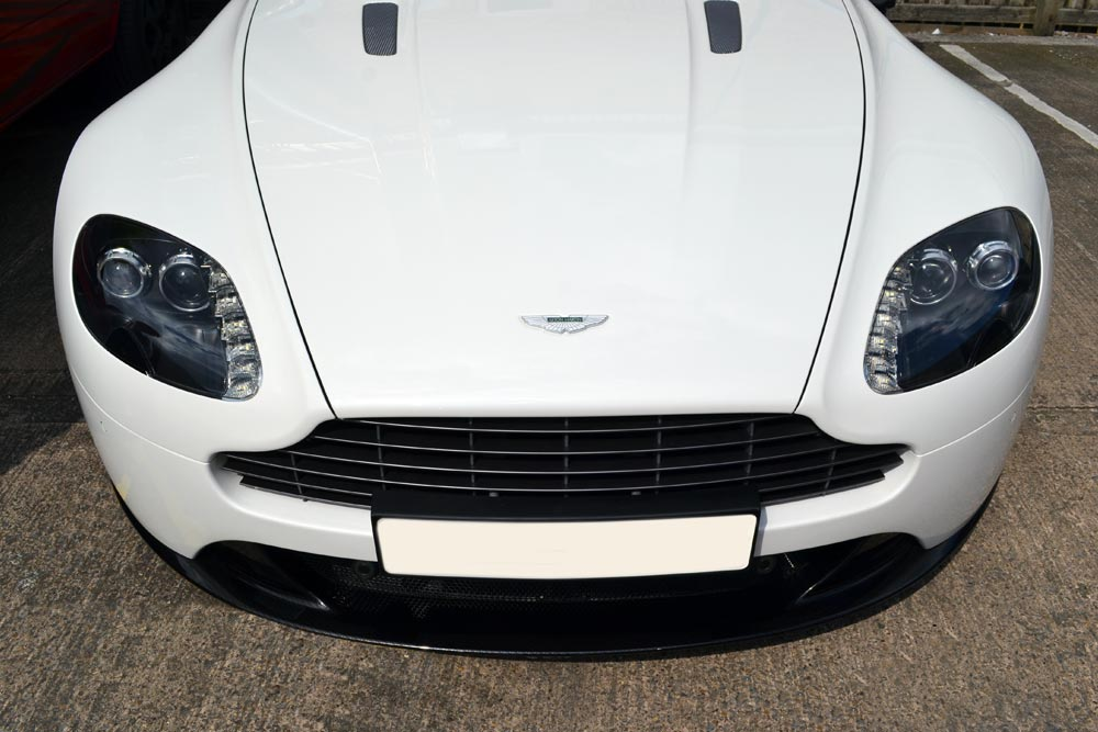 Aston Martin Front Splitter Above