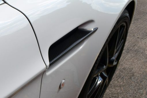 Aston Martin Side Vent Fin Above
