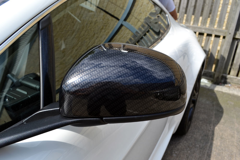 Aston Martin Wing Mirrors Fitted Rear