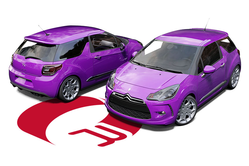 CItroen DS3 Wrap