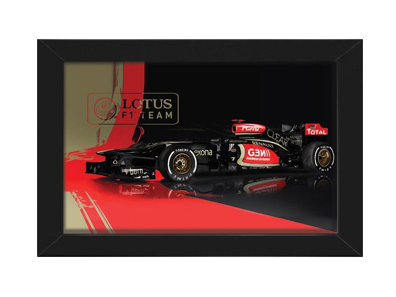 F1 Lotus Kimi Raikkonen