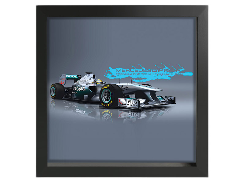 F1 Mercedes Driven by Lewis Hamilton