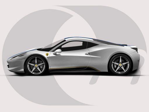 Ferrari 458 Side Sill Graphic