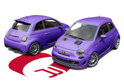 Fiat 500 Abarth Wrap