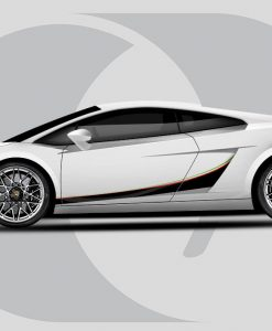 Lamborghini Gallardo Italia Side Graphics