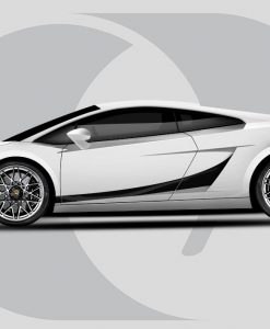 Lamborghini Gallardo Superleggera Side Graphics