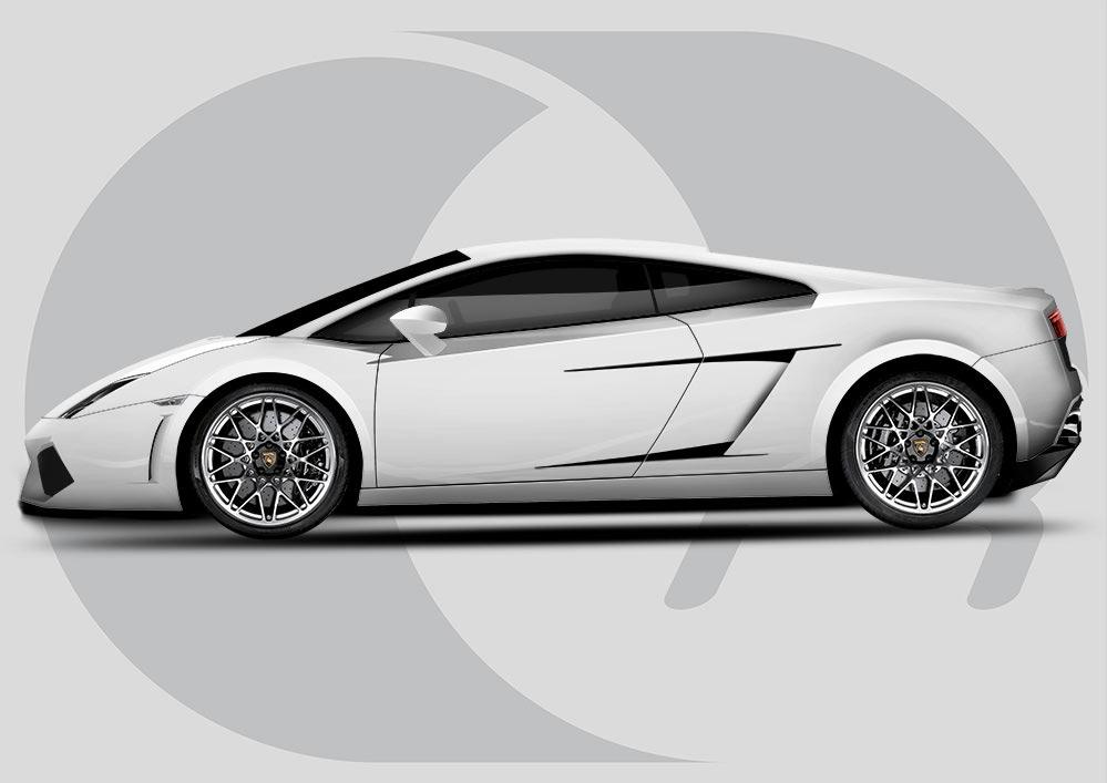Lamborghini Gallardo Side Vent Highlights