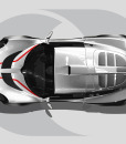 Lotus Exige Roof Graphics Bonnet Highlights