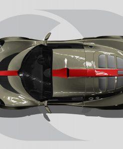 Lotus Exige Roof Graphics Centre Detail Stripe