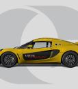 Lotus Exige Side Graphics Door Graphic