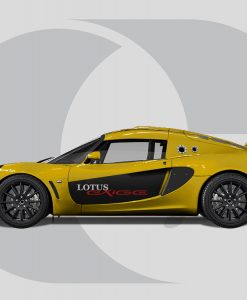 Lotus Exige Side Graphics Door Graphic