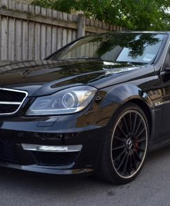 Mercedes C63 AMG Carbon Dipped Mirrors