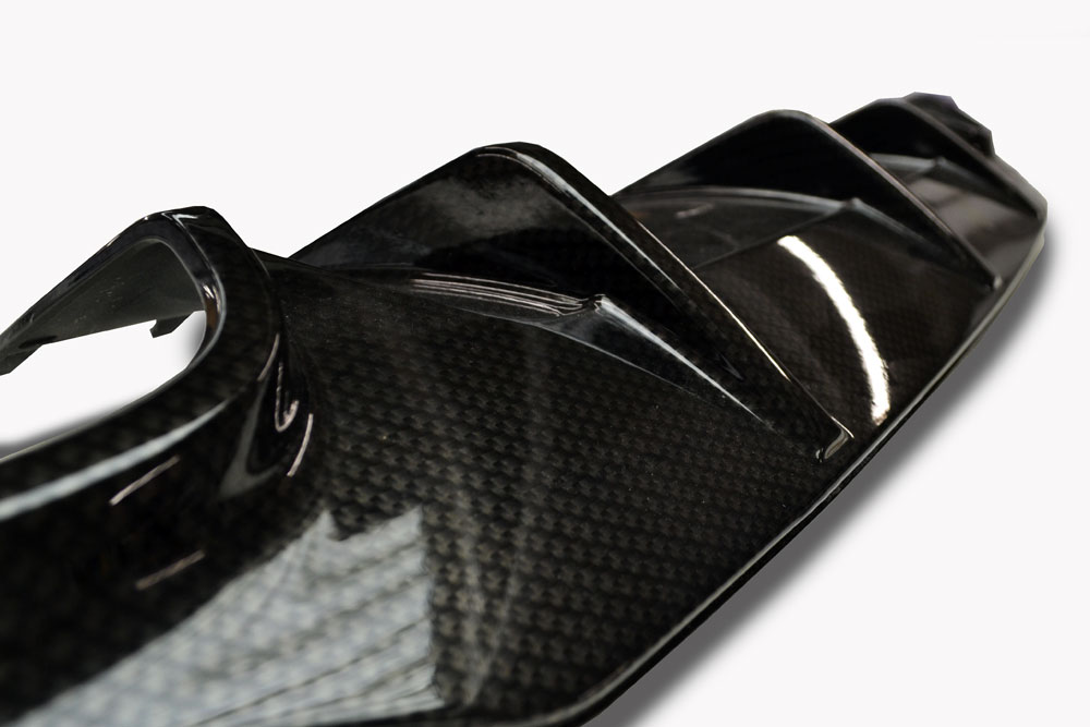 Mercedes C63 AMG Carbon Dipped Diffuser