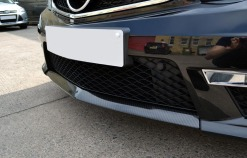 Mercedes C63 AMG Carbon Dipped Splitter Close