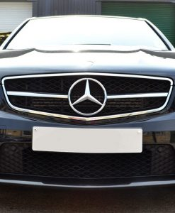 Mercedes C63 AMG Carbon Dipped Splitter Full Car