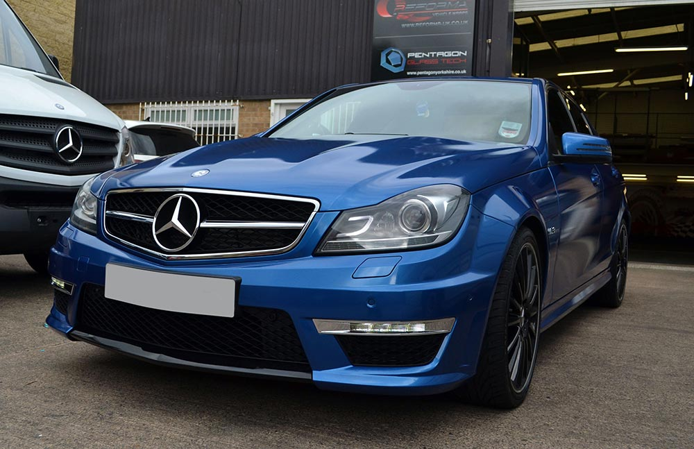 Daytona Blue Wrapped C63