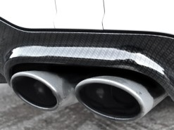 Mercedes C63 Carbon Dipped Rear Diffuser