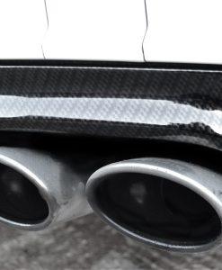 Mercedes C63 Carbon Dipped Rear Diffuser