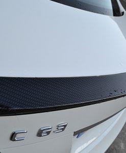 Mercedes C63 Carbon Dipped Rear Spolier