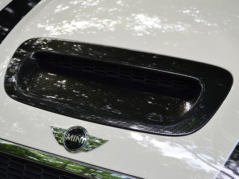 Mini Cooper Carbon Bonnet Vent