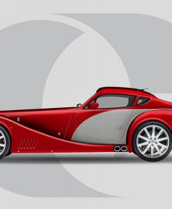 Morgan Aero SuperSports Side Graphics Rear Arch Sweep