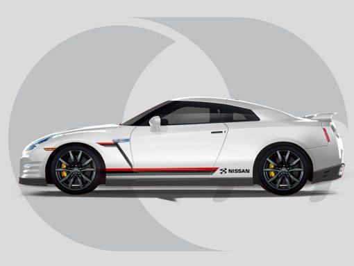 Nissan GTR Side Graphics Nismo Side
