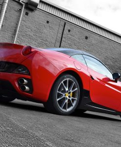 Ferrari California Carbon Side Sill Rear