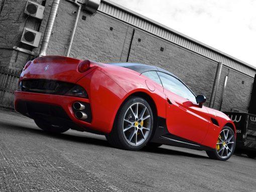 Ferrari California Carbon Side Sill Rear