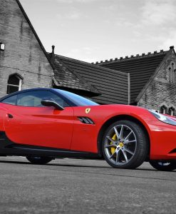 Ferrari California Carbon Side Sill Side