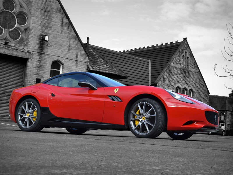 Ferrari California Carbon Front Splitter Reforma Uk