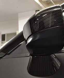 Nissan GTR Carbon Wing Mirrors Side