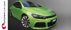 VW Scirocco Green