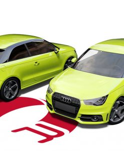 Audi A1 Lime Green Wrap