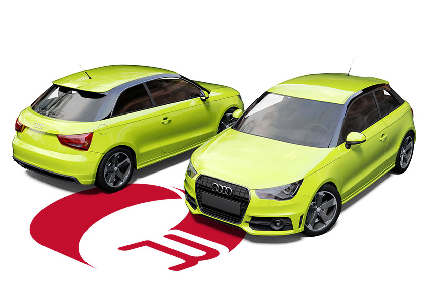 Audi A1 Lime Green Wrap