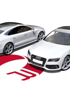 Audi RS7 White Wrap