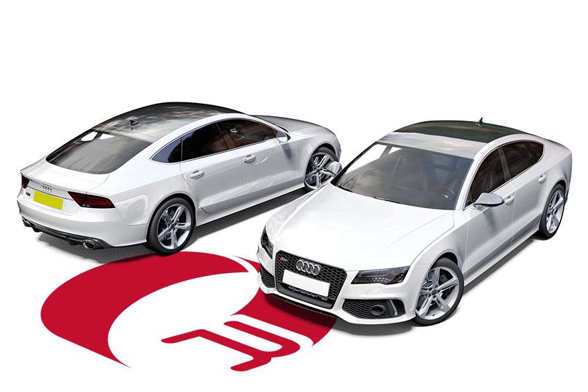 Audi RS7 White Wrap
