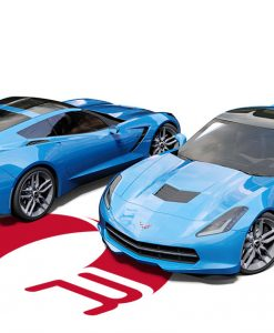 Corvette C7 Light Blue Wrap