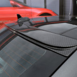 Mercedes C Class Gunmetal Rear Trim