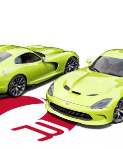 Dodge Viper Lime Green Wrap