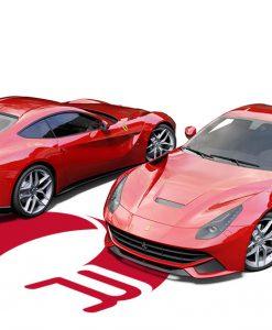 Ferrari F12 Berlinetta Cardinal Red Wrap