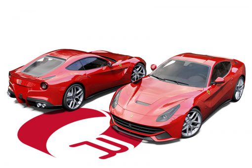 Ferrari F12 Berlinetta Cardinal Red Wrap