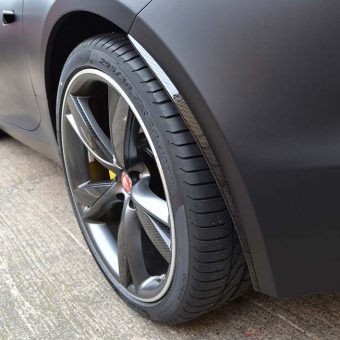 Jaguar F Type Matte Black Carbon Arch