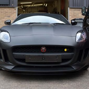 Jaguar F Type Matte Black Front