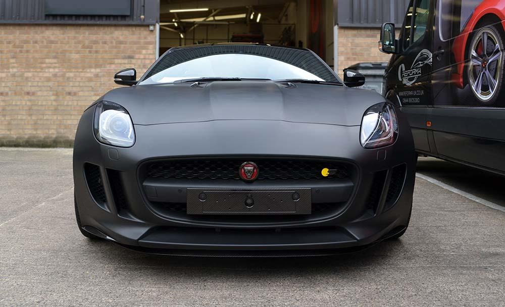 Jaguar F-Type Matte Black - Reforma UK