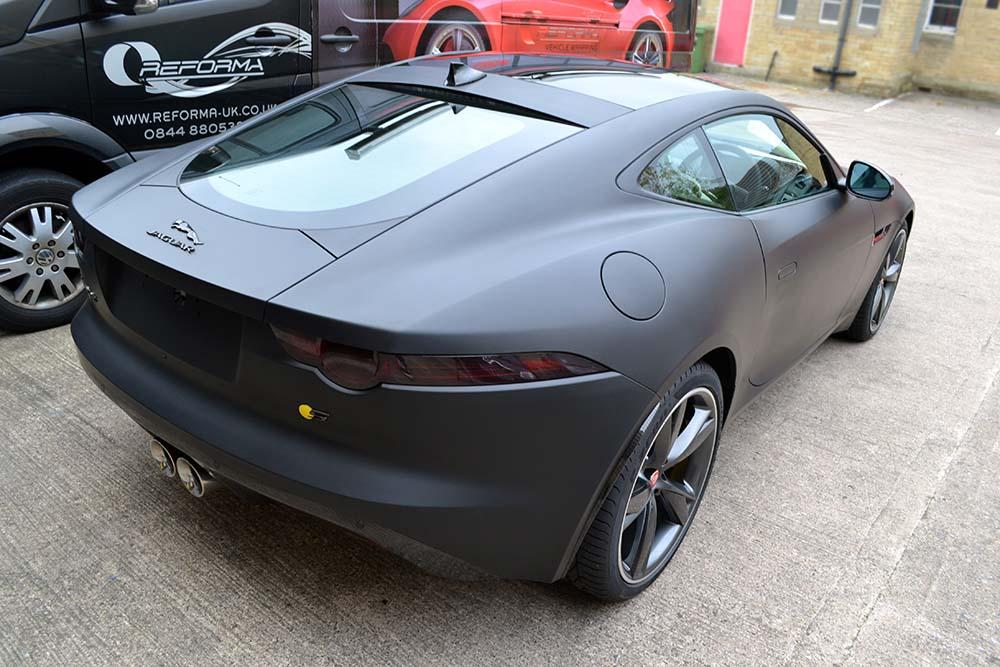 Jaguar F Type Interior >> Jaguar F-Type Matte Black - Reforma UK