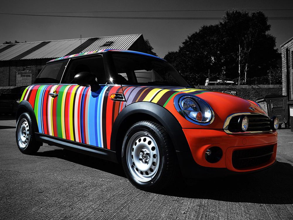 Mini Cooper Wrap >> Mini Cooper - Paul Smith Wrap - Reforma UK