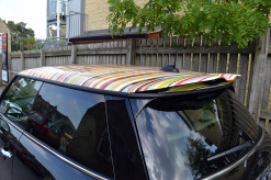 Mini Cooper S Paul Smith Roof Wrap Roof