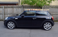 Mini Cooper S Paul Smith Roof Wrap Side