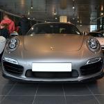 Porsche 911 Matte Grey Front